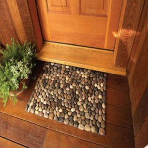 comment faire un tapis de sol en pierre par soi meme un jour de r ve. Black Bedroom Furniture Sets. Home Design Ideas