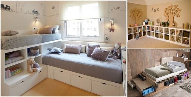 18 superbes id es de ranger la chambre de vos enfants un for Small youth room designs