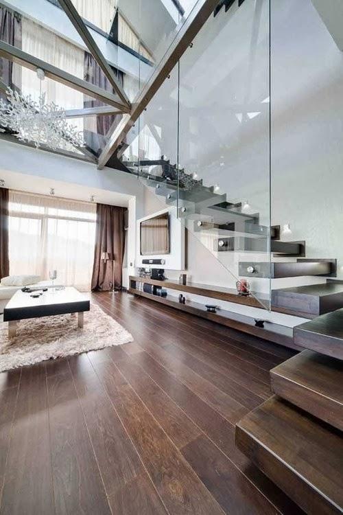 15 superbes id es pour utiliser l espace sous votre escalier un jour de r ve. Black Bedroom Furniture Sets. Home Design Ideas