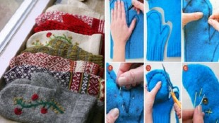 Sweater-Mittens