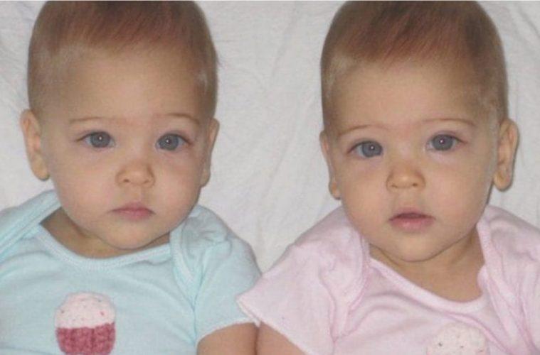 Les Bébés Filles Jumeaux : Ces jumeaux identiques nés en ont grandi et été