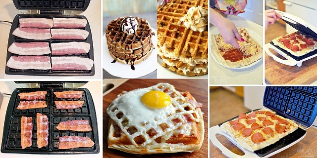 Foods Made With The Waffle Iron1