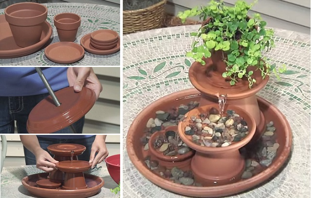 How To Build A Terra Cotta Fountain 11