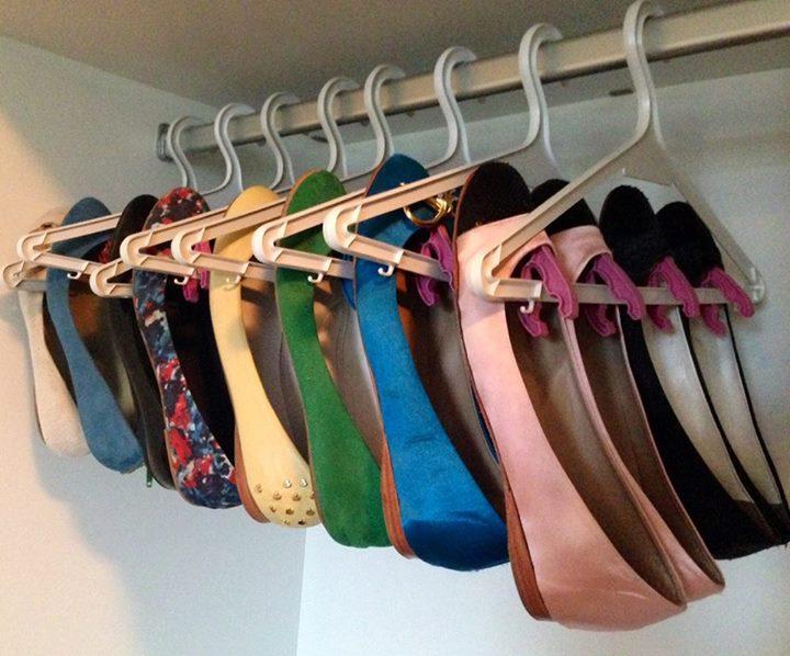 clothes hanger shoes1