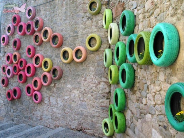 diy recycle old tires1