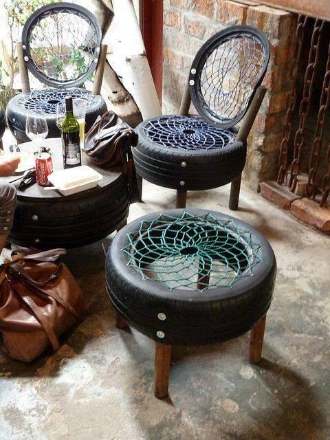 old-tires-furniture