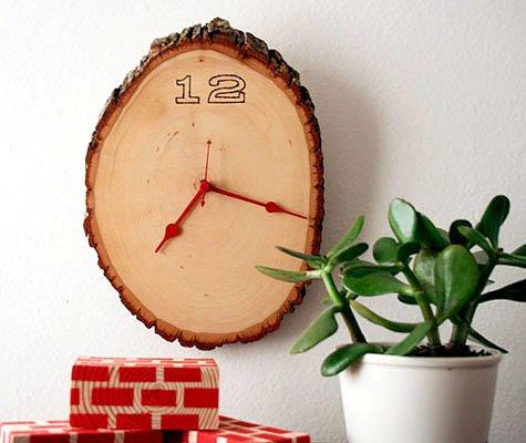 DIY wednesdays wood clock project