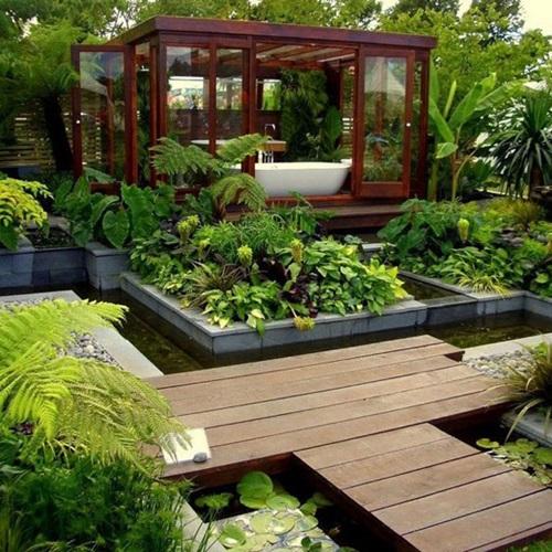 Wonderful Ideas to Decorate your Modern Garden 51