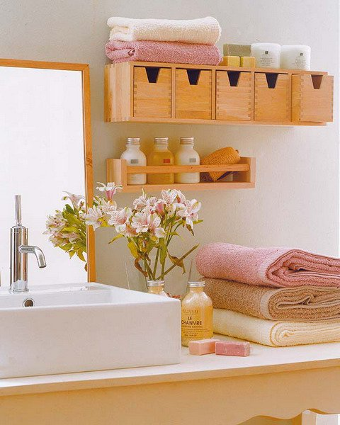 practical bathroom storage ideas 13