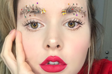 christmas tree eyebrows taytay xx fb