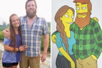 boyfriend drew girlfriend different cartoon styles kellssketchess coverimage