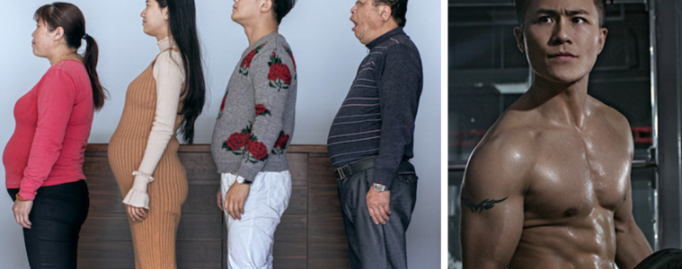 chinese family before and after 6 month weight loss results fb13