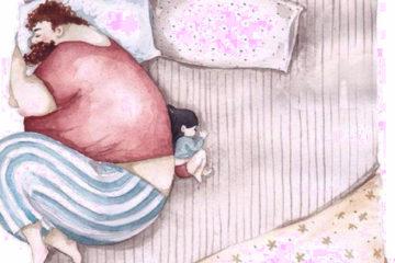 Les 14 illustrations adorables montrant lamour entre un pere et sa fille