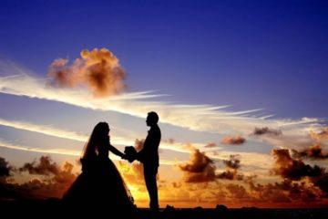 maldives sunset wedding bride 37521 768x511