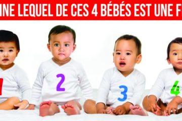 Devine lequel de ces 4 bébés est une fille 725x375
