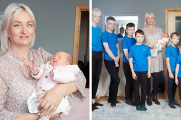 uk mom of 10 boys finally has a girl fb4