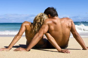 virgo pareja playa