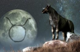 lune en Taureau