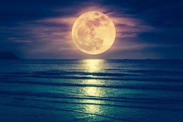 pleine lune en octobre